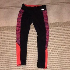 Cute black&pink pants
